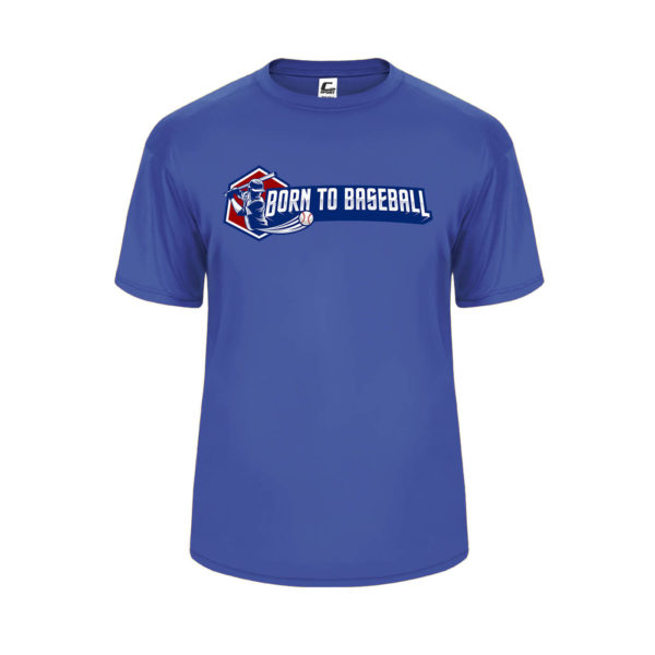 Youth Swing Performance Tee R Blue